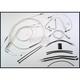 Custom Sterling Chromite II Designer Series Handlebar Installation Kit for Use w/18 in. - 20 in. Ape Hangers (w/ABS) - 387263