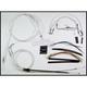 Custom Sterling Chromite II Designer Series Handlebar Installation Kit for Use w/15 in. - 17 in. Ape Hangers - 387282