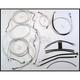 Custom Sterling Chromite II Designer Series Handlebar Installation Kit for Use w/18 in. - 20 in. Ape Hangers (w/ABS) - 387343