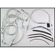 Custom Sterling Chromite II Designer Series Handlebar Installation Kit for Use w/15 in. - 17 in. Ape Hangers (w/ABS) - 387482