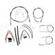 Black Pearl Designer Series Handlebar Installation Kit for Use w/18 in. - 20 in. Ape Hangers - 487103