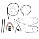 Black Pearl Designer Series Handlebar Installation Kit for Use w/15 in. - 17 in. Ape Hangers (Non-ABS) - 487122