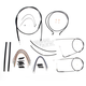 Black Pearl Designer Series Handlebar Installation Kit for Use w/18 in. - 20 in. Ape Hangers (Non-ABS) - 487123