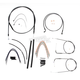 Black Pearl Designer Series Handlebar Installation Kit for Use w/12 in. - 14 in. Ape Hangers (Non-ABS) - 487151