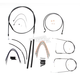 Black Pearl Designer Series Handlebar Installation Kit for Use w/15 in. - 17 in. Ape Hangers (Non-ABS) - 487152