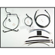 Black Pearl Designer Series Handlebar Installation Kit for Use w/18 in. - 20 in. Ape Hangers (Non-ABS) - 487333