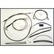 Black Pearl Designer Series Handlebar Installation Kit for Use w/18 in. - 20 in. Ape Hangers - 487403