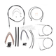Black Pearl Designer Series Handlebar Installation Kit for Use w/15 in. - 17 in. Ape Hangers - 487452