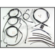 Black Pearl Designer Series Handlebar Installation Kit for Use w/15 in. - 17 in. Ape Hangers (w/ABS) - 487482