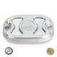 Machine Ops Cafe Rear Brake Master Cylinder Cover - 0208-2120-SMC