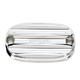 Chrome Nostalgia Rear Brake Master Cylinder Cover - 0208-2121-CH