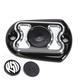 Contrast Cut Cafe Rear Brake Master Cylinder Cover - 0208-2122-BM