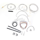 Stainless Braided Handlebar Cable and Brake Line Kit for Use w/18 in. - 20 in. Ape Hangers - LA-8050KT2-19