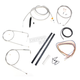 Stainless Braided Handlebar Cable and Brake Line Kit for Use w/12 in. - 14 in. Ape Hangers - LA-8110KT2A-13