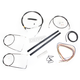 Black Vinyl Handlebar Cable and Brake Line Kit for Use w/12 in. - 14 in. Ape Hangers - LA-8110KT2A-13B