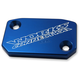 Blue Anodized Clutch Reservoir Cover - 21-070