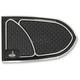Black Brake Pedal Cover - IBP-0001-B