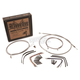 Stainless Steel 14 in. Handlebar Installation Kit w/ABS - B30-1127