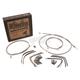 Stainless Steel 16 in. Handlebar Installation Kit - B30-1128