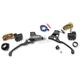 Black Complete Handlebar Control Kit - 0062-4019-BM