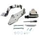 Chrome Hydraulic Rear Brake Control Kit - 22-0403