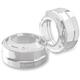 Misano Chrome Fork Dust Caps - 0208-2086-CH