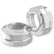 Tracker Chrome Fork Dust Caps - 0208-2087-CH