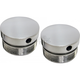 Polished 49mm Flush Mount Fork Caps - LA-7504-49