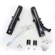Contrast Cut Single Disc Fork Leg Kit for Radial Mount Caliper - 0208-2099-BM