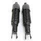 Black Custom Shorty Shocks w/Covers - 17-05694B