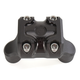 Black Ops Cut Moto Mega Risers for 1 1/4 in. Handlebars - 0208-2110-SMB