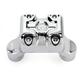 Chrome Moto Mega Risers for 1 in. Handlebars - 0208-2111-CH