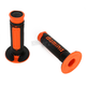 Black/Orange Domino Diamonte Grips - A26041C4540
