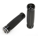 Black V-Line Billet Grips - TM-2073