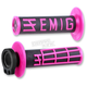 Black/Pink Emig V2 Lock-On Grips - H34EMBP