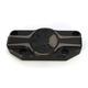 Laser Fusion Satin Black Fusion Top Clamp for 1-1/4 in. Handlebars - LA-F480-01M