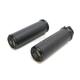 Laser Fusion Satin Black Fusion Grips - LA-F400-00M