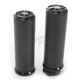 Decadent Black Powdercoat Fusion Grips - LA-F400-01B