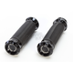 Black Anodized Overdrive Grips - 0063-2081-B