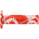 Red/White Snake Racing Grips - A26041C93