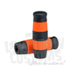 Black and Orange Stripe Flying Monkey Grips - 004083