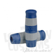 Blue and Gray Stripes Flying Monkey Grips - 004086