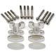 Aluminum Handlebar Riser Kit for 1-1/8 in. Bars - 23-09380