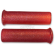 Red Star Fire Flake Grips - 42-21124
