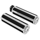 Chrome 10 Gauge Ness Tech Grips - 07-114