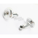 Silver Aluminum End Plugs - L71APS