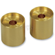 Gold 1-1/2 in. Riser Extensions for 1 in. Handlebars - LA-7415-22