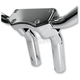 Chrome 5.5 in. Handlebar Risers w/ 1 in. Pullback - 0602-0590