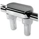 Chrome 3 3/4 in. Top Clamp Handlebar Riser - LA-7442-04