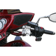 Black Bar/Chrome Klamps Klip Hanger Handlebar - 0601-2432